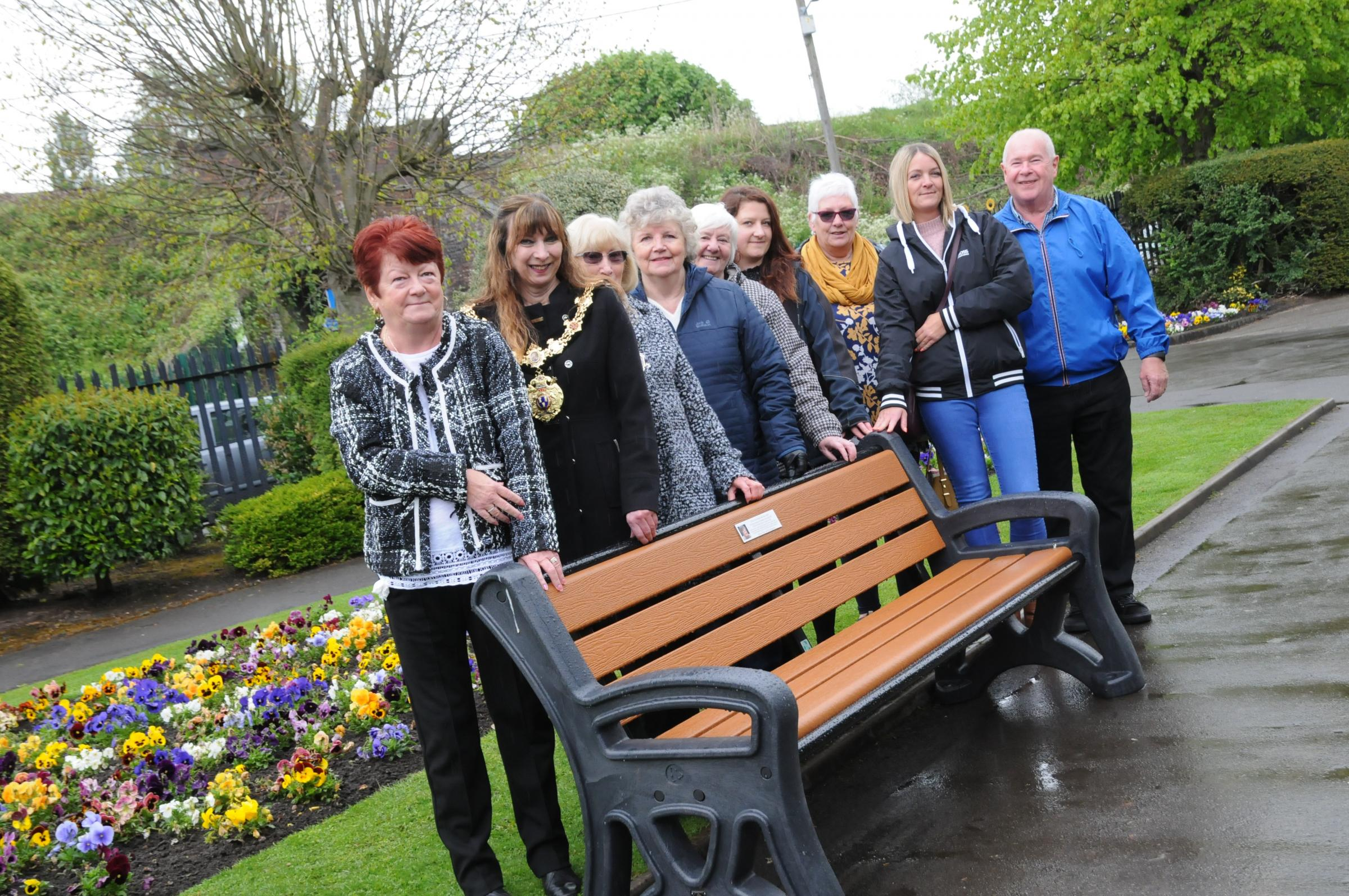 Lasting tribute to disabled rights champion installed at Vickersway Park