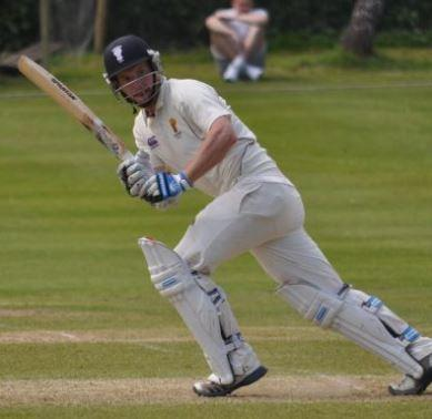 Former Oulton Park batsman Rick Moore led the way for Cheshire on Sunday when they beat Northumberland by 33 runs in the Unicorns Knockout Trophy