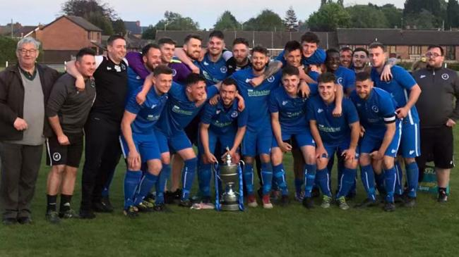 Lostock Gralam were rewarded for a storming start to the Mid-Cheshire District FA Saturday Challenge Cup final against Middlewich Town on Tuesday. Robbie Hatton's brace secured a 2-1 win