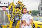 Transformers, the 'robots in disguise', will delight young fans on and off the track.