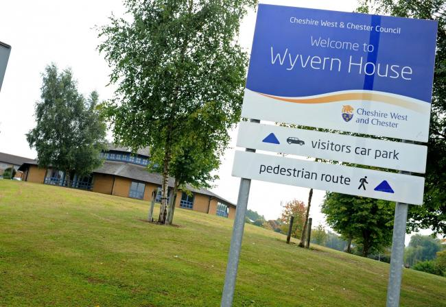 Wyvern House in Winsford.