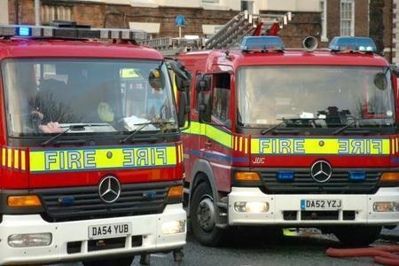 Washing machine causes kitchen fire at house on Chapel Lane in Moulton