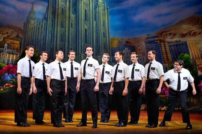 The Book of Mormon, Manchester Palace Theatre. Credit Paul Coltas