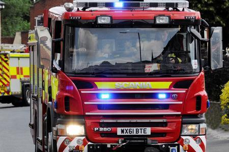 Firefighters were called to a report of a fire on Middlewich Road in Rudheath